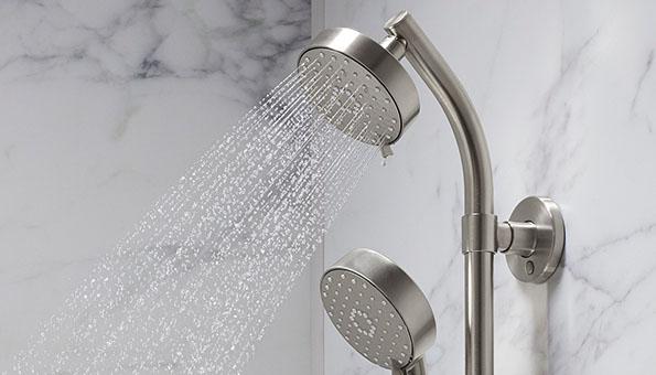 LuxStone Shower Sleek Faucets