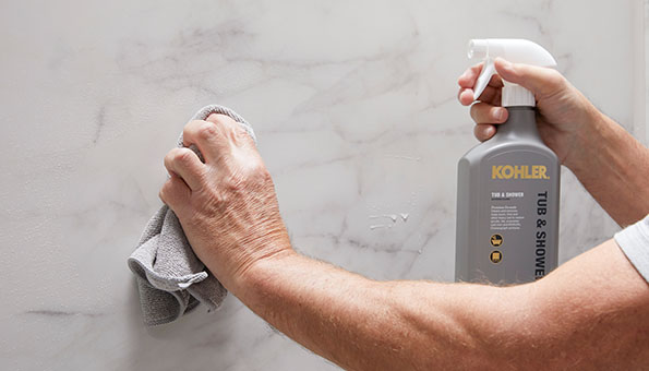 LuxStone Shower Grout-Free Walls